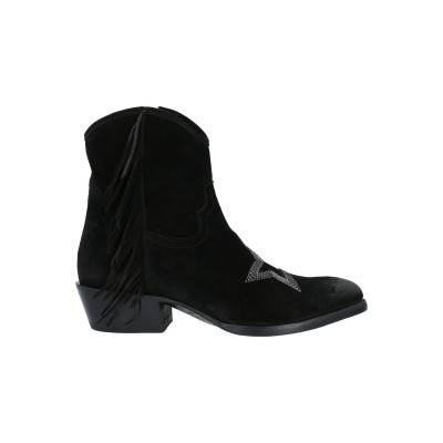MEZCALERO ショートブーツ ブラック 36 革 ショートブーツ