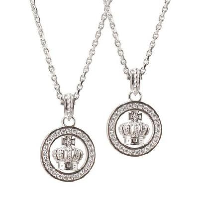 【DUB 通販限定アクセ】【DUB Collection|ダブコレクション】Round Crown Necklace ラウンドクラウンネックレス DUBjt-7【ペア】
