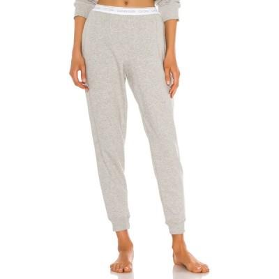 カルバンクライン Calvin Klein Underwear レディース スウェット・ジャージ ボトムス・パンツ One Basic Lounge Sweatpant Grey Heather