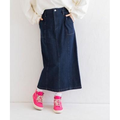 Mysa&Liina / デニムセミフレアペンシルスカート WOMEN スカート > デニムスカート