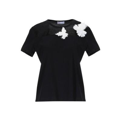 レッド ヴァレンティノ REDValentino T シャツ ブラック XS コットン 100% / ナイロン / ポリエステル T シャツ