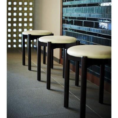 和風円形スツールスタッキングチェア木製丸椅子国内産業務用店舗用kettle