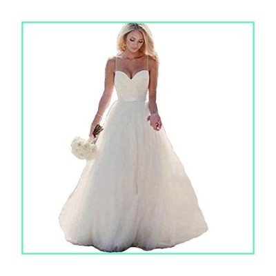 HDSLP Long Strapless Wedding Dress Sweetheart A-Line Tulle Bridal Gown with Lace Up Ivory 18w並行輸入品