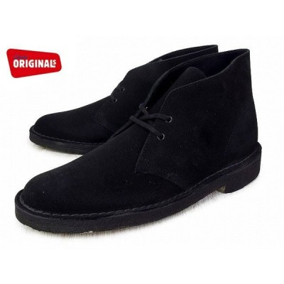 クラークス デザートブーツ ブラック CLARKS DESERT BOOT 26107882 BLACK SUEDE US規格 boots
