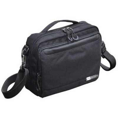 【全商品ポイント10倍】 エンドー鞄 NEOPRO KARUXUS ネオプロ カルサス 横型 ショルダーバッグ Sサイズ クロ 2-084-BK