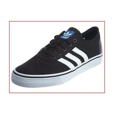 adidas Originals Men's Adiease Skate Shoes, Black/White/Black, (12 M US)【並行輸入品】