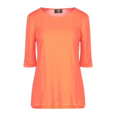 LE COL T シャツ オレンジ 40 アクリル 80% / ナイロン 20% T シャツ