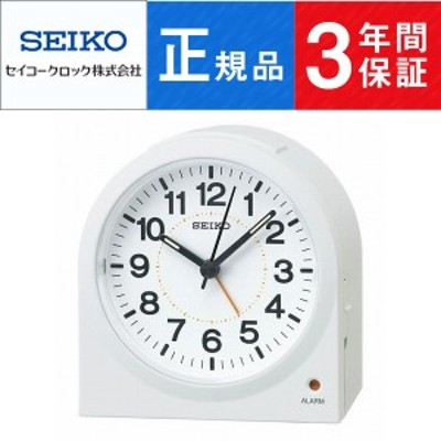 SEIKO CLOCK セイコー クロック スタンダード 目覚まし時計 KR894W