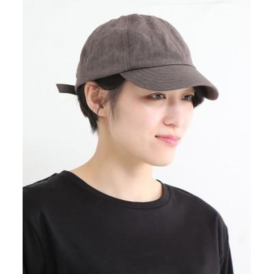 MELROSE claire / ベルギーリネンキャップ WOMEN 帽子 > キャップ