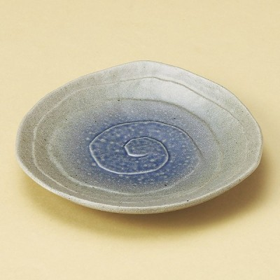 業務用食器 コロナ三角3.5皿 12×12×2cm 丸皿