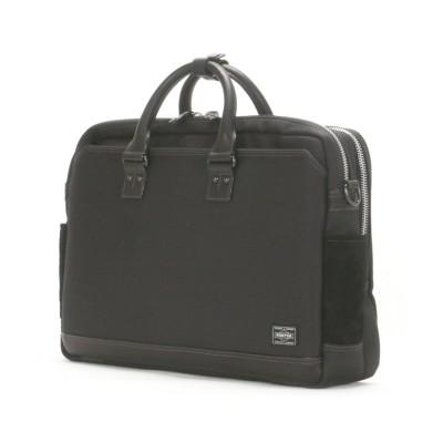 【カバンのセレクション】 吉田カバン ポーター エルダー ビジネスバッグ メンズ 2WAY B4 PORTER 010-04430 ユニセックス ブラック フリー Bag&Luggage SELECTION