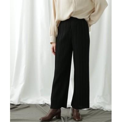 Ray Cassin / 【WEB限定】カットプリーツパンツ WOMEN パンツ > パンツ