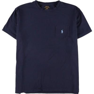 ラルフローレン Ralph Lauren POLO RALPH LAUREN 半袖 ポケットTシャツ メンズL /eaa147943