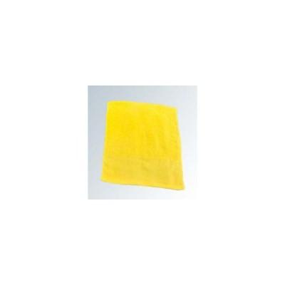 SATO/佐藤トレーディング  カラータオル 片平地付 #200(12枚入)イエロー 340×860