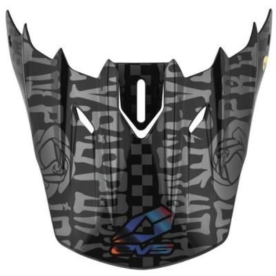 【USA在庫あり】 727816 イーブイエス EVS 補修バイザー T5 Evilution 黒 JP店
