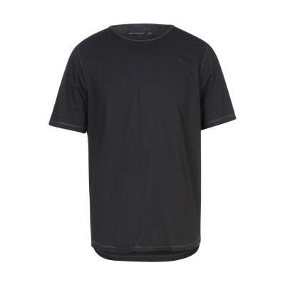JOHN VARVATOS ★ U.S.A. T シャツ ブラック S コットン 55% / ポリエステル 45% T シャツ