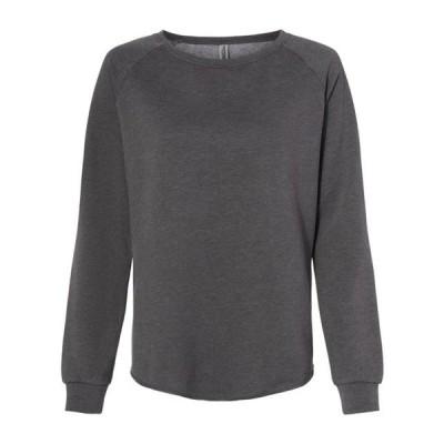 レディース 衣類 トップス Independent Trading Co. - Women's California Wave Wash Crewneck Sweatshirt - Artix Tシャツ