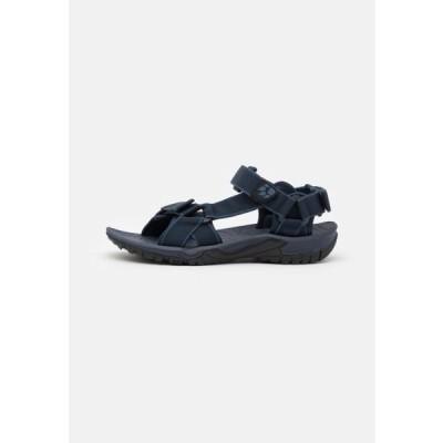 ジャックウルフスキン メンズ スポーツ用品 LAKEWOOD RIDE - Walking sandals - night blue