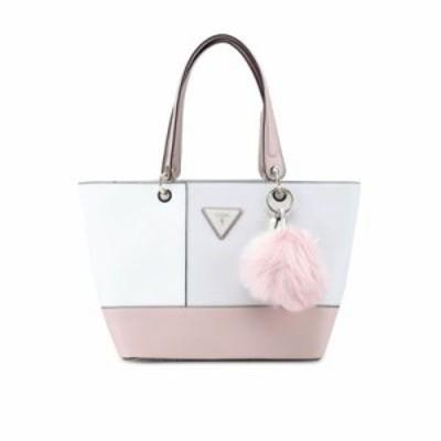 ゲス トートバッグ Kamryn Tote white,pink
