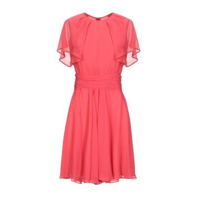 ジャンバティスタ ヴァリ GIAMBATTISTA VALLI ミニワンピース&ドレス コーラル 40 シルク 100% ミニワンピース&ドレス