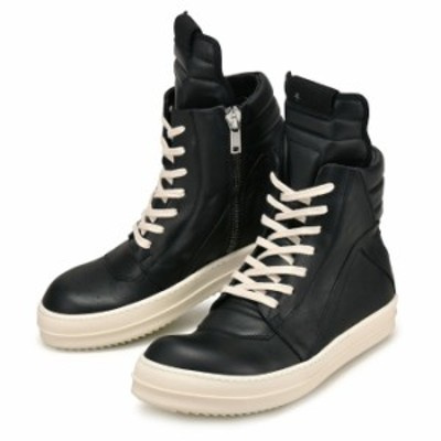 リックオウエンス メンズ RICK OWENS LEATHER SNEAKS RU17F8894LPO991(otr1636)