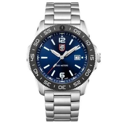 ルミノックス 腕時計 メンズ用 Luminox Pacific Diver Blue Dial Stainless Steel Mens Watch XS.3123