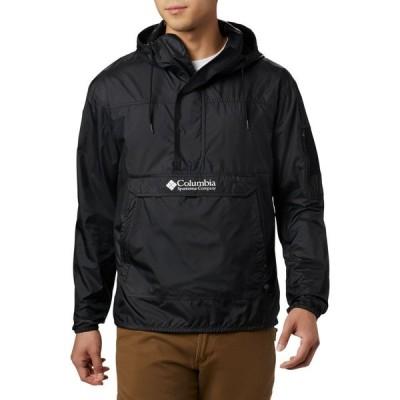 コロンビア Columbia メンズ ジャケット ウィンドブレーカー アウター challenger windbreaker windproof jacket Black