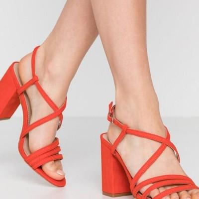 タタイタリア レディース サンダル High heeled sandals - red