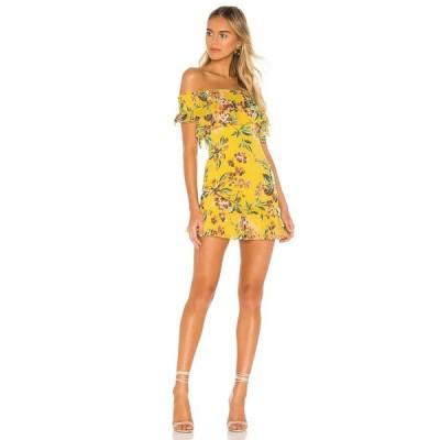 トゥラロサ Tularosa レディース ワンピース ワンピース・ドレス Lanzo Dress Yellow Dahlia