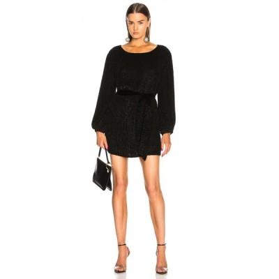 レトロフェット retrofete レディース ワンピース ワンピース・ドレス grace dress Black Sequin