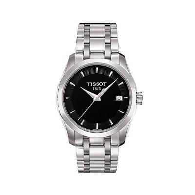 Tissot T-Trend Couturier Black Dial Women's watch #T035.210.11.051.00 並行輸入品