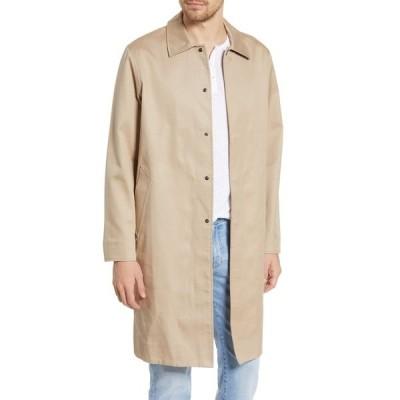 ラグアンドボーン メンズ ジャケット&ブルゾン アウター Samuel Slim Coat BEIGE/ NAVY