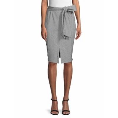 フューモーダ レディース スカート Front Slit Belted Skirt