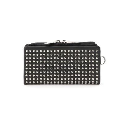 財布 Leather long wallet 'all-studs' 2 ロングウォレット