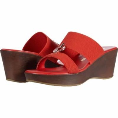 アン クライン Anne Klein レディース サンダル・ミュール ウェッジソール シューズ・靴 Hadya Wedge Sandal Orange