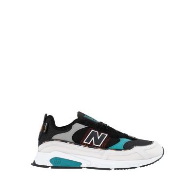 ニュー・バランス NEW BALANCE スニーカー&テニスシューズ(ローカット) ブラック 7.5 紡績繊維 スニーカー&テニスシューズ(ローカッ