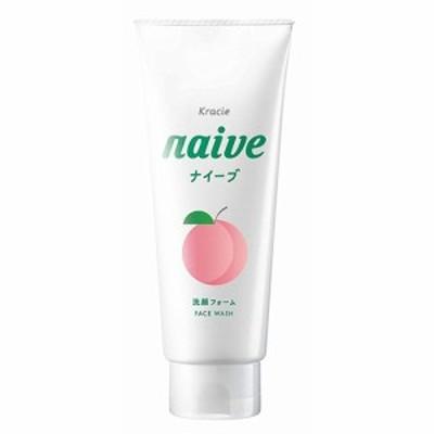 ナイーブ 洗顔フォーム(桃の葉エキス配合)130g