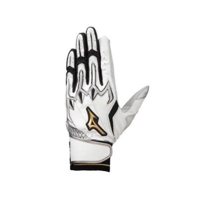 ミズノ MIZUNO ミズノプロ シリコンパワーアークLIバッティング手袋(両手用) 野球 バッティング手袋