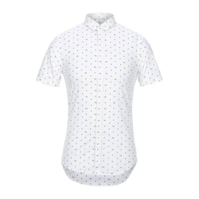 ARMANI EXCHANGE シャツ ホワイト XXL コットン 97% / ポリウレタン 3% シャツ
