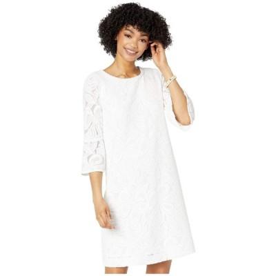 リリーピュリッツァー Lilly Pulitzer レディース ワンピース ワンピース・ドレス Ophelia Dress Resort White Wildflower Stripe Lace