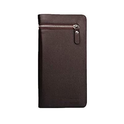 [エンジェルムーン] 財布 メンズ 長財布 大容量 カード収納 ファスナー 免許証 ウォレット スタイリッシュ