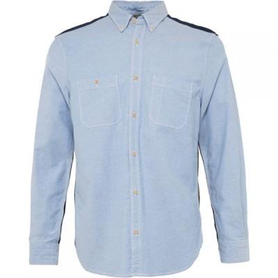 フレンチコネクション French Connection メンズ シャツ トップス City Patchwork Shirt Red