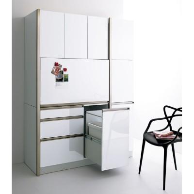 カップボード・食器棚 幅40cm ホワイト