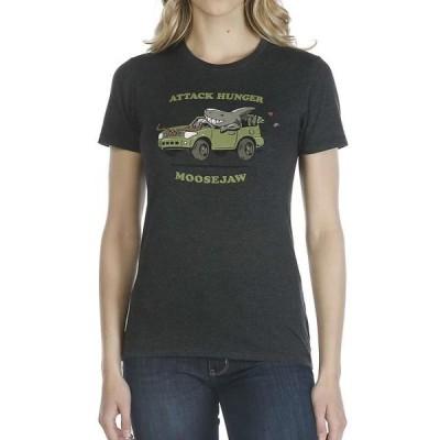 レディース 衣類 トップス Moosejaw Women's Attack Hunger Collab Vintage Regs SS Tee Tシャツ