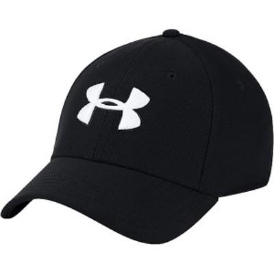アンダーアーマー メンズ 帽子 アクセサリー Blitzing 3.0 Cap Black/Black/White