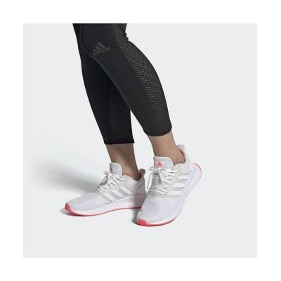 【アディダス】 FALCONRUN W レディース ホワイト 26.0cm adidas