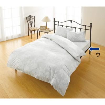 ベッド 寝具 布団 布団カバー シーツ類 機能カバーリング シングル (綿100%のダニゼロック ベッドシーツ) 544821