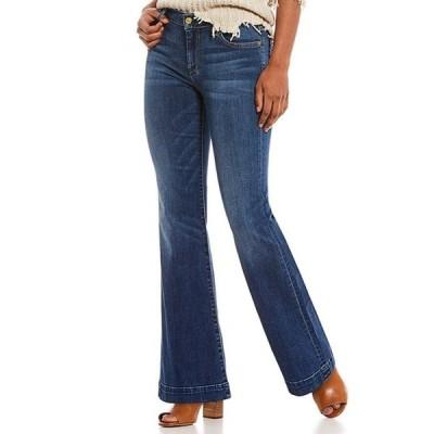 セブンフォーオールマンカインド レディース デニムパンツ ボトムス Tailorless Dojo Flare Leg Jeans