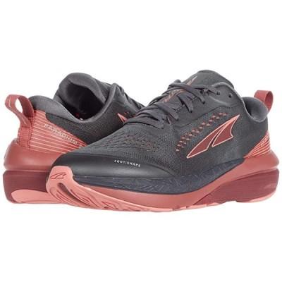 Altra Footwear Paradigm 5 レディース スニーカー Gray/Coral/Port