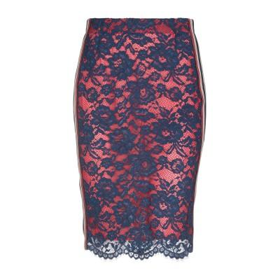ピンコ PINKO 7分丈スカート ブルー 46 ナイロン 72% / ポリエステル 28% 7分丈スカート